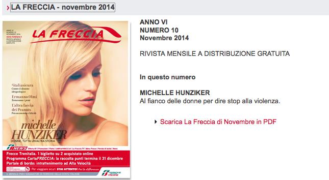 La Freccia - Novembre 2014