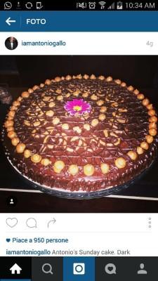 Antonio e la sua torta